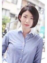 モッズ ヘア 上大岡店(mod's hair)美シルエットの大人ボブ【DONNA 2007-08A/w】