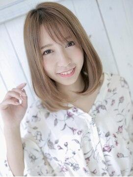 アグ ヘアー イリゼ 仙台駅東口店(Agu hair irise)似合わせカットで大人かわいいボブディ