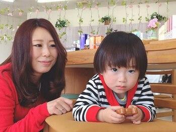 美容室リップルの写真/小学生以下カット¥1350~!!1歳未満もOKなので子育て中のママに優しい♪家族で通えるアットホームなサロン☆
