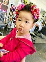ヘア メイク エア コーディネーション七五三 3歳 日本髪