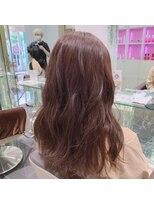 ネオヘアー 京成曳舟店(NEO Hair)ショコラピンク×アンニュイロング【京成曳舟】