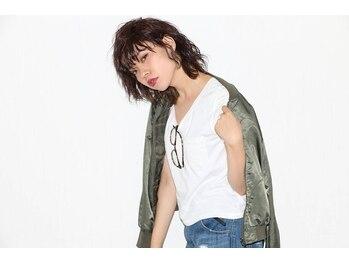 ヘアーメイク ナリカ 筑後店(HAIR MAKE Narika)の写真/「毎朝コテで巻くのは面倒くさい…」「髪を巻くのが苦手」そんな方にはNarikaのデジタルパーマがおすすめ◎