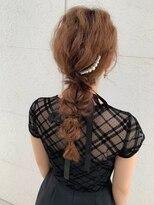 ブームワサダ(BOOM WASADA)【大分】人気の編みおろしヘアセット