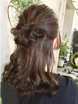 ザバンク(THE BANK)の写真/暗くなりすぎない明るい色にも対応!!髪質に合わせて5種類のカラー剤から幅広くご提案◎艶感溢れる美髪へ♪