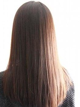 """美容室 スキップ(Skip)の写真/ 話題の""""髪質改善メニュー""""『S-AQUA(サイエンスアクア)』導入♪こだわりのメニューで満足の仕上がりに♪"""