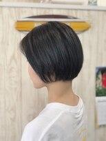 カイナル 関内店(hair design kainalu by kahuna)ミニボブ×ドライヴカット