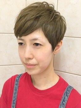 ヘアーアンドメイクガク(Hair&Make GAKU)の写真/骨格/髪質を見極めたこだわりカット♪リピーターが多いのが技術の証◎トレンドのShortStyleで魅力度UP★