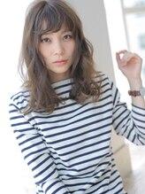 アグ ヘアー ニルス 広島立町店(Agu hair nils)☆決め過ぎないカジュアルウェーブセミディ☆