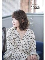 ヘアデザイン ロッコ(hair design ROCCO)大人可愛い*ナチュラルボブ
