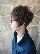 【151e 戸塚】*マッシュショート+アシメ*