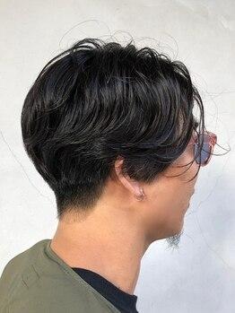 ヒツジトヘアーの写真/メンズパーマならヒツジトヘアーに何でもお任せ!!幅広く網羅するパーマ技術の高さ×再現性の高さが大好評◎