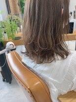 ヴェール(Veil)透明感白髪染め/ハイライト/スモーキーベージュ/mio kuwamoto