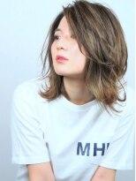 ヘアメイクエシェル 小松店(Hair Make e‐shell)ミディアムスタイル