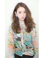 リリース(release)release【外国人風ラフカールロング】