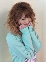 ブルー(BLUE by soho+)ゆるフワ巻き