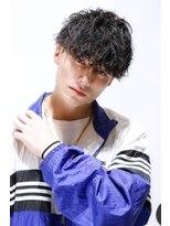 リップスヘアー 銀座(LIPPS hair)スパイラルマッシュパーマ