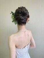 ピエドプールポッシュ(PiED DE POULE POCHE)* wedding hair * 挙式ヘア