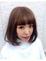 モウ ライフヘアー(MOW LIFE HAIR)MOW☆ハーフカールミディ