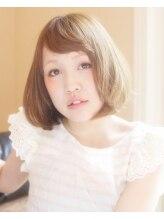 シュガービー(sugar B)ふんわり可愛いミディボブ☆ sugar-B