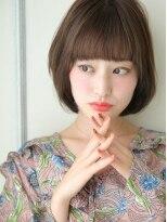 ショコラナンバ(Chocolat NAMBA)乙女モード★ツヤ感ショート★フェアリーダメージレス縮毛
