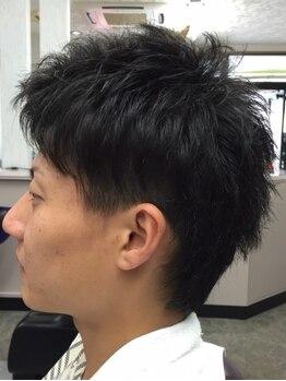 カットスタジオかしはらの写真/好印象度UP!!ビジネスシーンでも浮かない、お洒落な髪型をご提案。スタイリングも簡単に★
