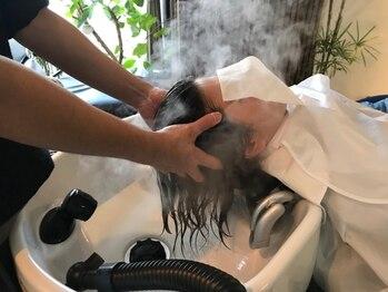 ビランチェ(bilancia)の写真/約20分ものヘッドスパ&マッサージ!蓄積した皮脂汚れや疲れも絶妙な力加減でほぐして心身共にリラックス♪