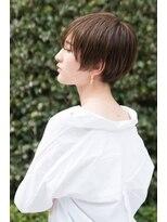 『AUSTIN』ダブルバングブランジュ×小顔ワンサイドショート