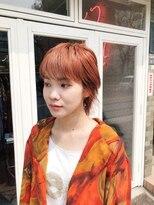 チカシツ(Chikashitsu)orange short