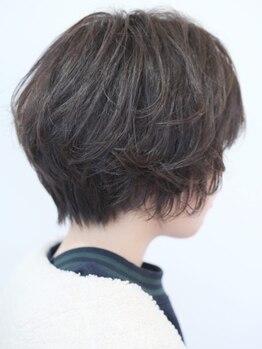 """セックヘアデザイン(Sec hair design)の写真/ショート&ボブが大得意な実力派Stylistがあなたのイメージに合わせ一番似合う""""ショートスタイル""""をご提案◇"""
