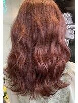 クレア バイ グレープバイン 金沢文庫(CLAIRE by GRAPEVINES)赤みピンク × ロング