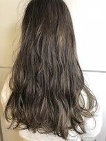 ヘアーウーノイルヴェント(HAIR UNO ilvento)ハイライトのみのハイトーン【HAIR UNO 水戸】