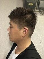 1分スタイリングビジネスマンショート 【カットカラー】
