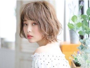 プレイアンドコー 日立店(pLAy&co)の写真/オーガニックといえば【pLAy&co】一生付き合い続ける髪だからオシャレも忘れず頭皮&髪に優しいカラーを♪
