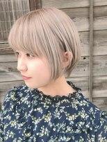 コレット ヘアー 大通(Colette hair)☆ホワイトミルクティーカラー☆