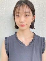 カサネ(casane)【CASANE下北沢】シースルーバング×ボブ