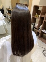 new!! 髪質改善ストリートメント シルクのようなやわらかい髪へ