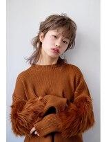 シアン ヘア デザイン(cyan hair design)【オシャレ度No1】ウルフミディアムスタイル