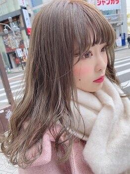 タブーケイ(TABOO.K)の写真/名駅◆外国人風カラー,secret colorが大人気★カラー技術に自信のあるStylist揃い!TABOO.Kにおまかせ♪