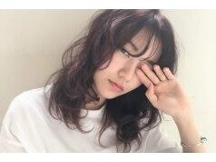 LISA指名クーポン/トレンドstyle♪似合わせ前髪カット+THROWカラー