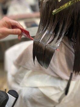 ヘアステージアミカルの写真/【国立駅】マイナス5歳髪で、いつもよりツヤのある髪に。厳選トリートメントで髪に癒しを♪♪
