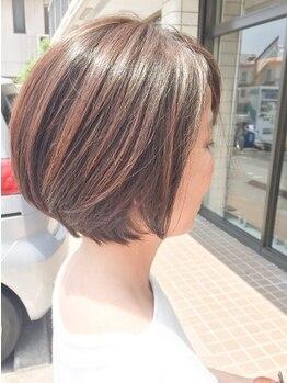ヘアデザイン グラン ジュテ 検見川浜(Hair Design GRAND JETE)の写真/大人世代の髪の悩みに応えるMenuが豊富☆キレイになる時間をゆったり過ごせる明るく落ち着いた空間が人気!