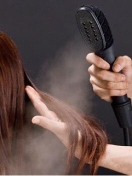 ルリアン 綱島店(Le'lien)の写真/お悩みの方に!超微粒子nanoスチームで髪の水分バランスを整え髪内部に栄養を補給![Le'lien綱島店]