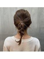 アリーズヘアー 心斎橋OPA(allys hair)ストリートファッションに合う簡単アレンジ