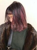 ブロック ジャポン(bloc japon)重めカットもカラーで柔らかい雰囲気に・重軽・フレンチ