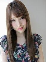 アグ ヘアー カーレント 天文館店(Agu hair current)爽やかレイヤ-×ストレートロング