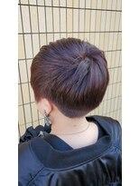 リックヘアー(Ric Hair)刈り上げ女子☆バイオレット☆