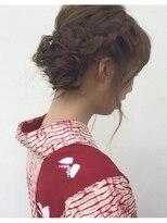 neolive terrace 仙川 浴衣ヘアセット ¥6.480-