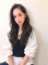 ヘアーリゾート ディプシー 大名店(Hair Resort DEPSEA)【プラチナグレージュロング☆】