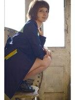 ROJITHA☆BROOkLYNガール/オンザ眉個性派ボブROJITHA0364273460