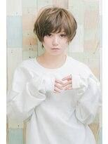 ティモーネ(Timone)メッシュカラーで立体ショートスタイルで小顔効果☆